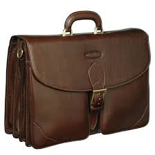 Leather trawling bags