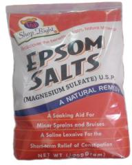 Epsom Salt MgsO4 H/2