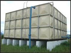 Fiberglass Water Storage Panel Tanks