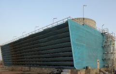 Fiberglass Cooling tower and accessories