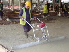 Concrete Surface Finishing Screed Machine