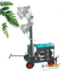 Light Tower Vehicle