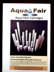 Aqua Fair Filter Cartridge (Clean manufacturing and Environmentally safe product life cycle)