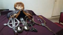 Horse Saddle Set (Pure Leather)