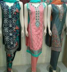 Ladies 3pc Embroidered stitched suits at wholesale rate by Sofarahino