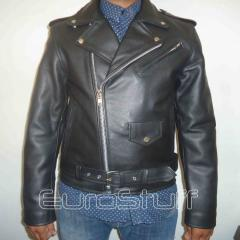 The Perfecto Leather Double Rider Brando Motorcycle Jacket