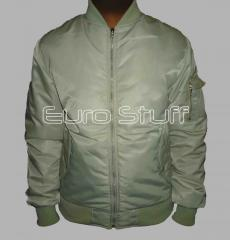 MA 1 Nylon Flight Reversible Jacket-Sage Green