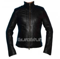 Wax Washed Lambskin Leather jacket