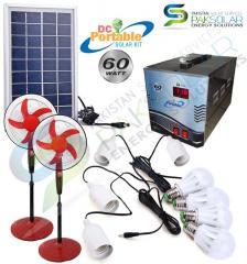60W Portable Solar Kit System