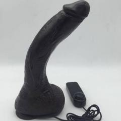 Dildo Balck  Super Huge Dildo Realistic with Suction Cup & Vibrator for Women