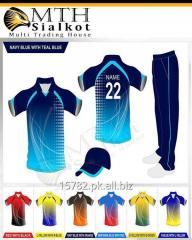 Sublimation printed Cricket uniforms