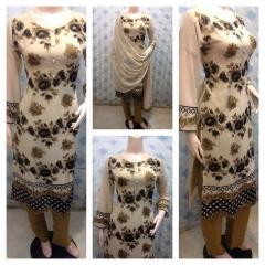 Ladies 3pc casual dresses at wholesale rate by Sofarahino