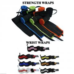 Strength Wraps  -  Wrist Wraps