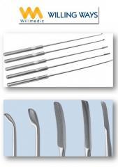 Arthroscopic Curettes & Elevators Medical Surgical Instruments