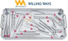 Willmedic Medical Surgical Neurosurgery Spinal Instruments Spinal Set Tray 1