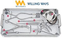 Willmedic Neuro surgical Spinal instruments Medical tools Set Tray 2