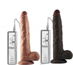 Dildo Vibrating 10 Inch With Suction Cup Sex Toys for Female