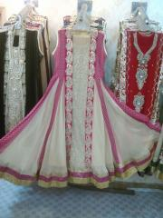 Latest fancy chiffon 3pc dresses at wholesale rate by Sofarahino