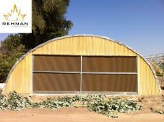 Green House (Fiber Glass Sheet Covering)