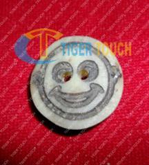 Trachen Lederhosen Button Bone