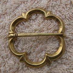 Viking buckle 1250-1400 brooch / medieval replica