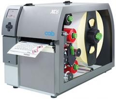 CAB XC4 - the GHS label printers for two-color printing