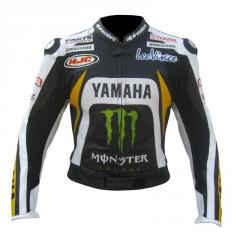 Super Speed D1 Leather Motorcycle Jacket