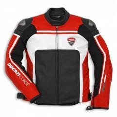 Racing Ducati 1 Leather Motorcycle Jacket