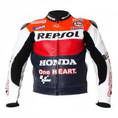 Racing Repsol R2 Leather Motorcycle Jacket