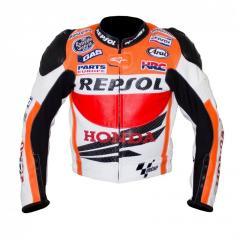 Racing R3 Leather Motorcycle Jacket