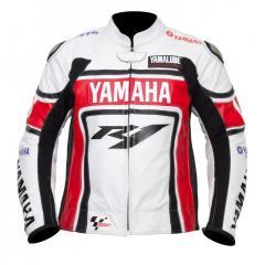 Racing Yamaha Y1 Leather Motorcycle Jacket