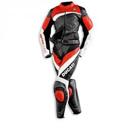 Motorcycle leather suit for Professional Biker Ducati