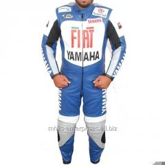 Motorcycle leather suit for Professional Biker racing suit Fiat