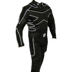 Motorcycle leather suit for Professional Biker racing suit X
