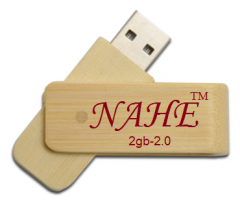 2gb Wooden Twister USB Flash Drive