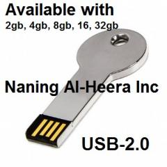 2gb Metal Key Style USB Flash Drive