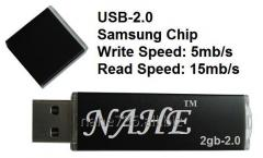 2gb PP Black USB Flash Drive