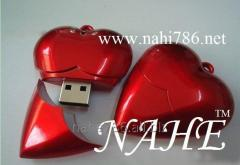 2gb Heart Shape USB Flash Drive