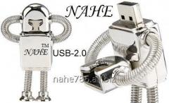 4gb Metal Robot USB Flash Drive