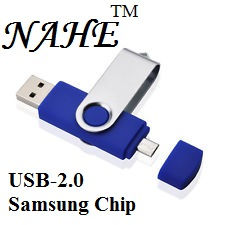 4gb Double Port USB Flash Drive