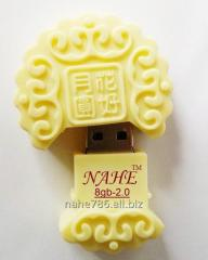 8gb Cream Style USB Flash Drive