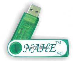 16gb Plastic Twister USB Flash Drive