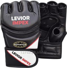 Boxing gloves Leather Grappling Gloves Fight Boxing MMA
