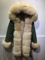 Women's Parka Jacket (with Real Fur lining)