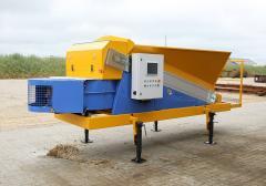 Compact mobile concrete plant ECONOMY CLASS.