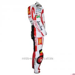 Buy Honda Marco Race Professional Biker leather racing suit
