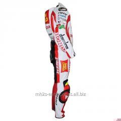 Buy Honda Marco Race Professional Biker leather racing suit
