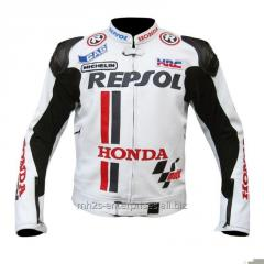 Leather protection wears motor jackets with customization