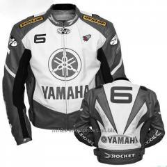 Racing Y6 Yamaha Leather Motorcycle Jacket Motorcycle leather