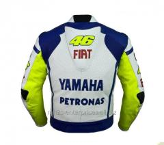 Racing D1 Leather Motorcycle Jacket D